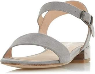 Dorothy Perkins Womens *Head Over Heels by Dune Grey Niccy Heeled Sandals