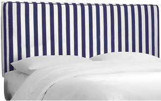 One Kings Lane Macy Striped Headboard - Navy