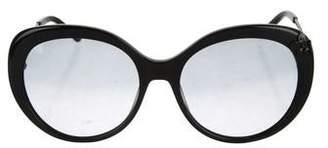 Nina Ricci Round Gradient Sunglasses