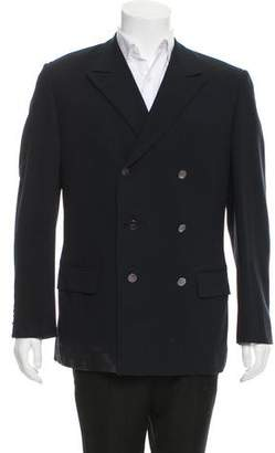 Gucci Double-Breasted Wool Blazer