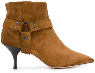 Morobé strap detail ankle boots