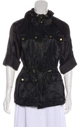 MICHAEL Michael Kors Hooded Lightweight Jacket