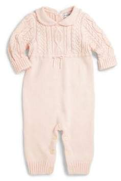Ralph Lauren Baby's Cable-Knit Coverall