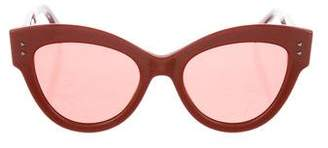 Fendi Oversize Peekaboo Cat-Eye Sunglasses
