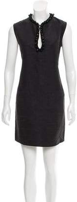 Lanvin Embellished Shift Dress