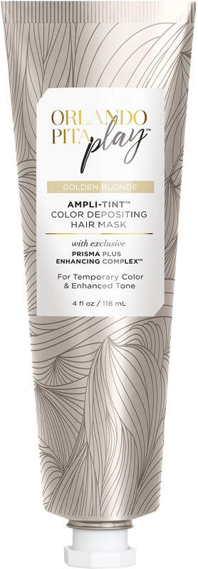 Orlando Pita Play Ampli-Tint Color Depositing Hair Mask Image