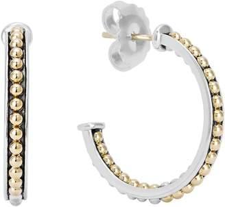 Lagos KSL Beaded Hoop Earrings