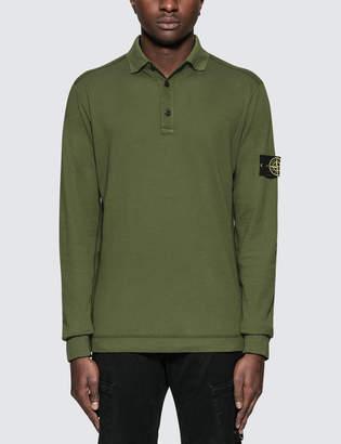 Stone Island L/S Polo Shirt