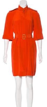 Diane von Furstenberg Silk T-Shirt Dress