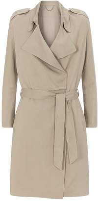 AllSaints Bexley Twill Trench Coat