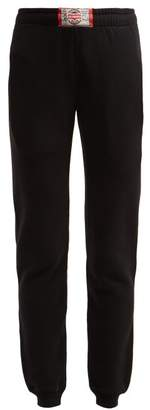 Vetements Boxer Tag Cotton Track Pants - Womens - Black