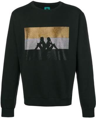 Kappa sequin logo sweatshirt