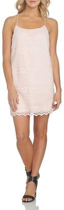 1 STATE 1.State Racerback Shift Dress