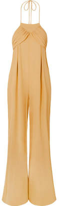 Jacquemus L'ensemble Saha Crepe De Chine Jumpsuit - Yellow