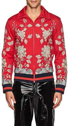 Gucci MEN'S EMBROIDERED TRACK JACKET