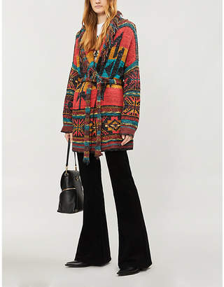 Free People Wild Wild West knitted cardigan