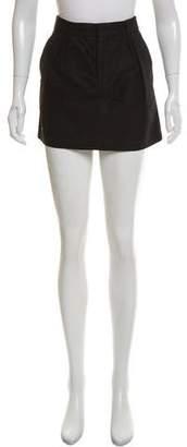Theyskens' Theory Woven Mini Skirt