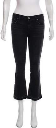 RtA Denim Flared Mid-Rise Jeans w/ Tags