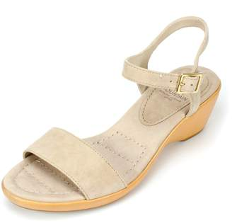 b7ffa52f4f21 White Mountain Leather Sandals For Women - ShopStyle Canada