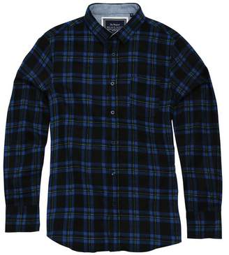 Brave Soul Mens Duffey Long Sleeve Check Shirt (L)