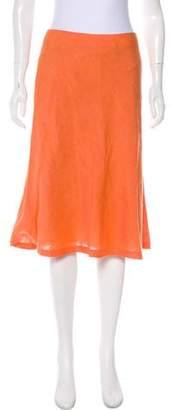 Lafayette 148 Knee-Length A-Line Skirt