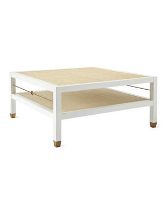 Serena & Lily Cabot Square Coffee Table