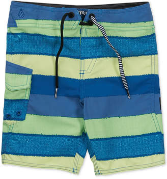 Volcom Magnet Stripe Swim Trunks, Big Boys
