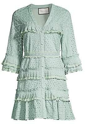 Alexis Women's Audrea Ruffle Cotton Dress