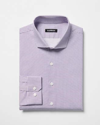 Express Classic Print Dress Shirt