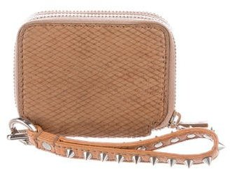 3.1 Phillip Lim 3.1 Phillip Lim Studded Embossed Leather Wallet