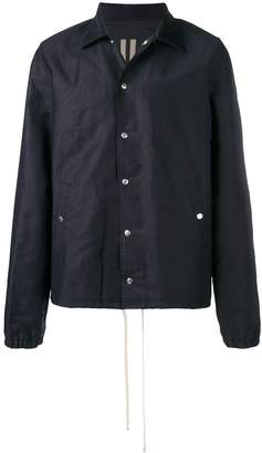 Rick Owens drawstring overshirt jacket