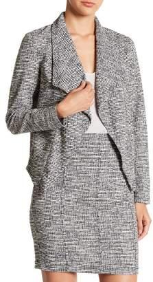 14th & Union Textured Tweed Long Sleeve Jacket (Regular & Petite)