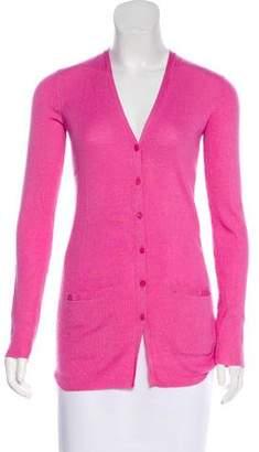 Ralph Lauren Black Label Wool and Silk-Blend Cardigan w/ Tags