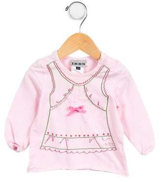 Ikks Girls' Long Sleeve Top