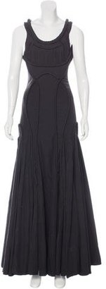 AllSaints Appeley Flared Gown $245 thestylecure.com