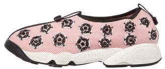 Christian Dior Mesh Embellished Sneakers