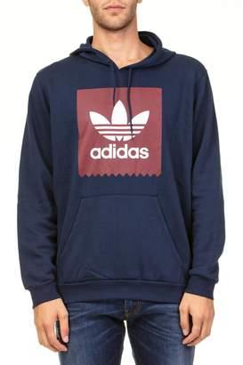 adidas Solid Bb Hood Cotton Blend Sweatshirt