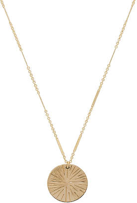 Paradigm Sunburst Coin Necklace