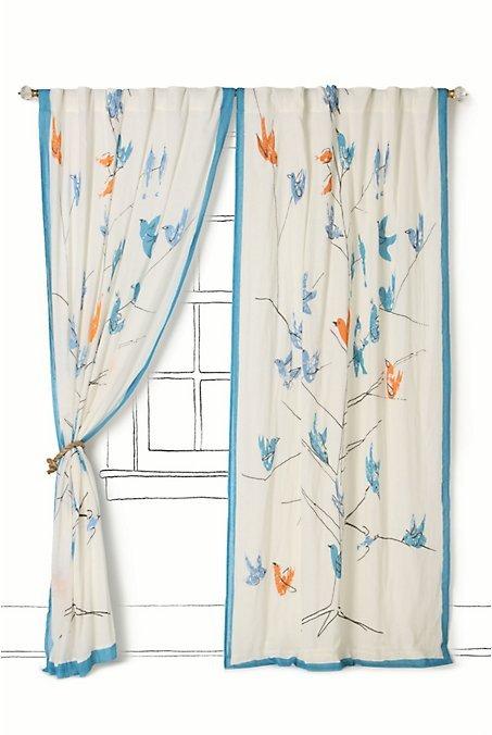 Songbird Harmonies Curtain