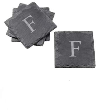 Cathy's Concepts Monogram Slate Coasters