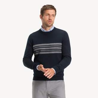 Luxury Wool Blend Stripe Jumper