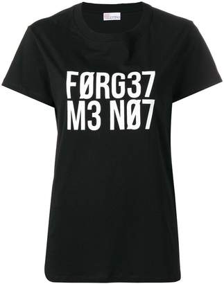 RED Valentino Forget Me Not T-shirt