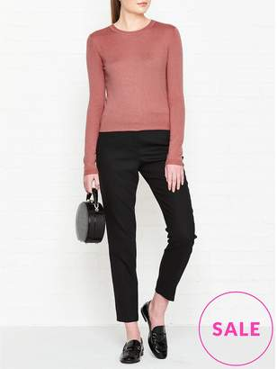Whistles Annie Sparkle Knitted Jumper- Pink