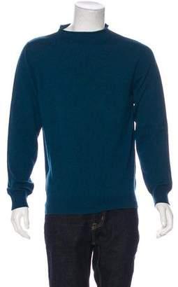 Maison Margiela Cashmere Mock Neck Sweater