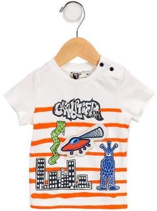 Junior Gaultier Boys' Graphic Short Sleeve T-Shirt