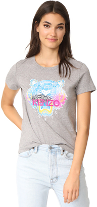 KENZO Rainbow Tiger T-Shirt $125 thestylecure.com