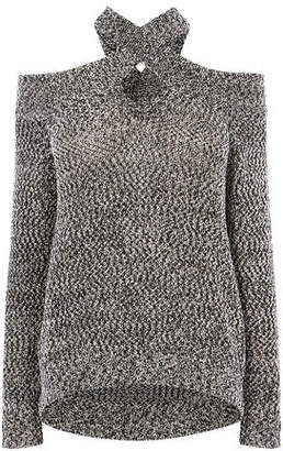 Karen Millen Cold Shoulder Jumper