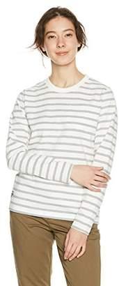 Chums (チャムス) - [チャムス] Utah Pocket Long Sleeve T-Shirt Women's レディース CH11-1322 White-H/Gray 日本 M (日本サイズM相当)
