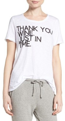 Women's Chaser Wine Time Tee $59 thestylecure.com