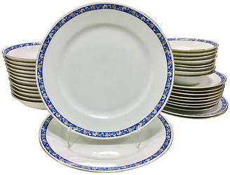 One Kings Lane Vintage Japanese Porcelain Dinnerware - 32 Pcs - Jacki Mallick Designs